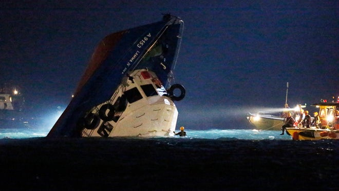 Six Crew Arrested After Hong Kong Ferry Collision Kills 37