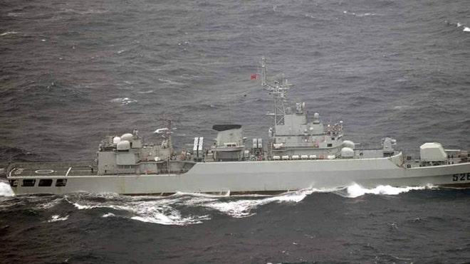 As territorial dispute simmers japan monitors china warships near