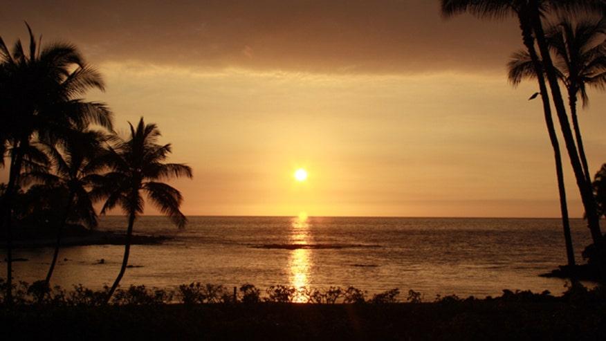 Hawaii Sunset, Kona, slideshow