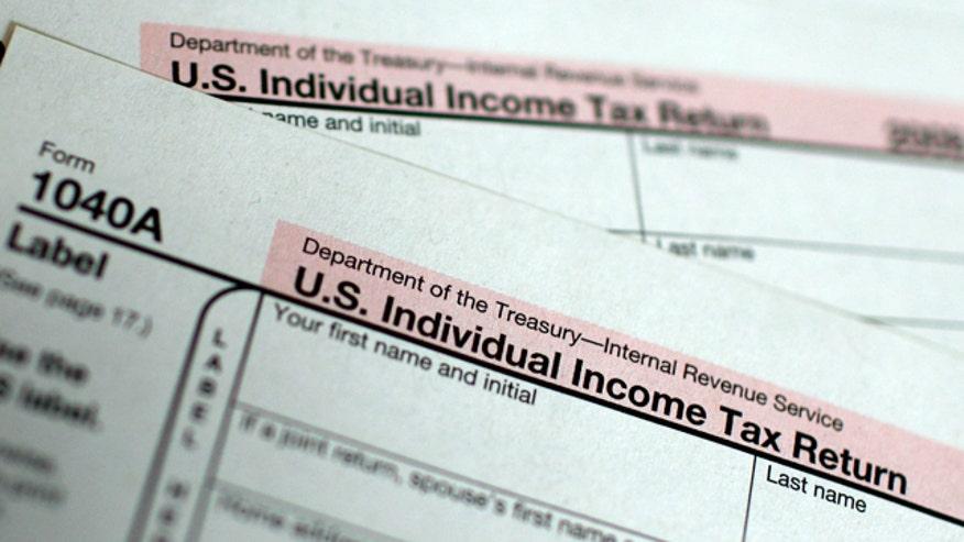 Tax Form 1040A, 640x360