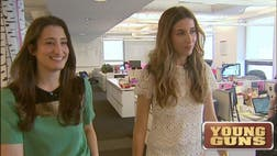 >Two Harvard grads set out to reinvent the cluttered beauty industry by selling samples customers could get for free