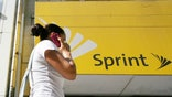 Embattled Sprint Nextel suffered a deeper loss in the first quarter, but the company's results were better than many on Wall Street had feared.