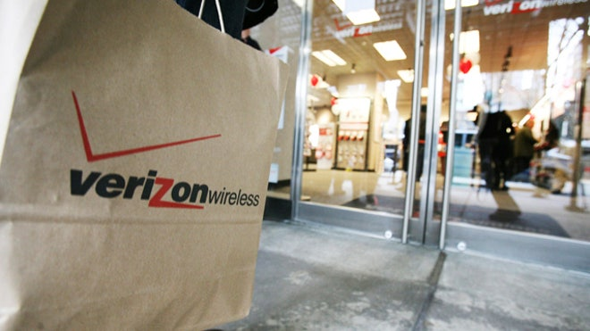 Verizon Wireless Shopping Bag Retail  Store