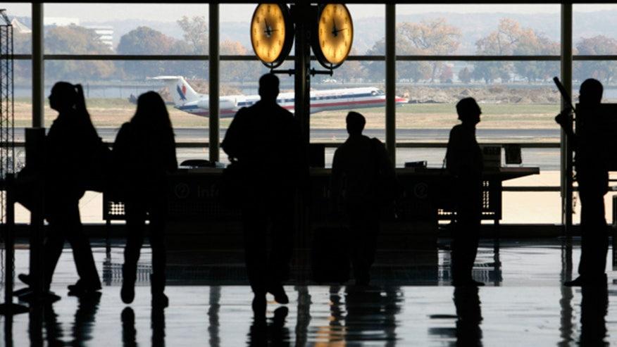 Airport-Reagan-Passengers-Waiting