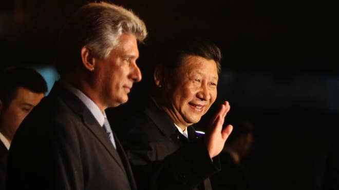 Chinese President Xi Jinping says that Cuba's economic reforms could lead to greater commercial ties between the two nations.