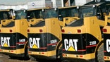 Economic bellwether Caterpillar generated a stronger-than-expected % leap in first-quarter profits as the world's largest maker of construction equipment capitalized on new acquisitions and strong demand.