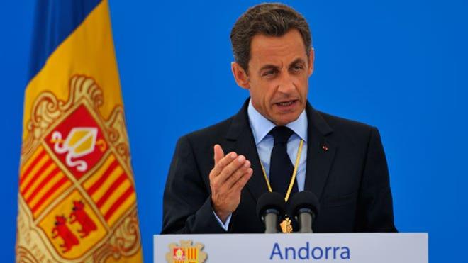 Andorra Co-Prince Nicolas Sarkozy