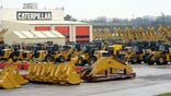 Caterpillar's construction and mining equipment continued to face sales headwinds in North America, posting a % drop globally in April.