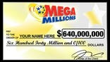 Mega Million $640 Check