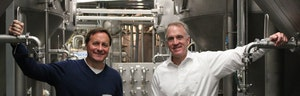 A bottled-up college dream turned reality when Harpoon Brewery's co-founders tapped into a desire to shake-up the dull U.S. beer market and bring European-style brews home.