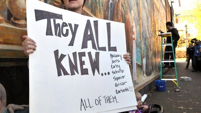 Penn State Scandal Sign