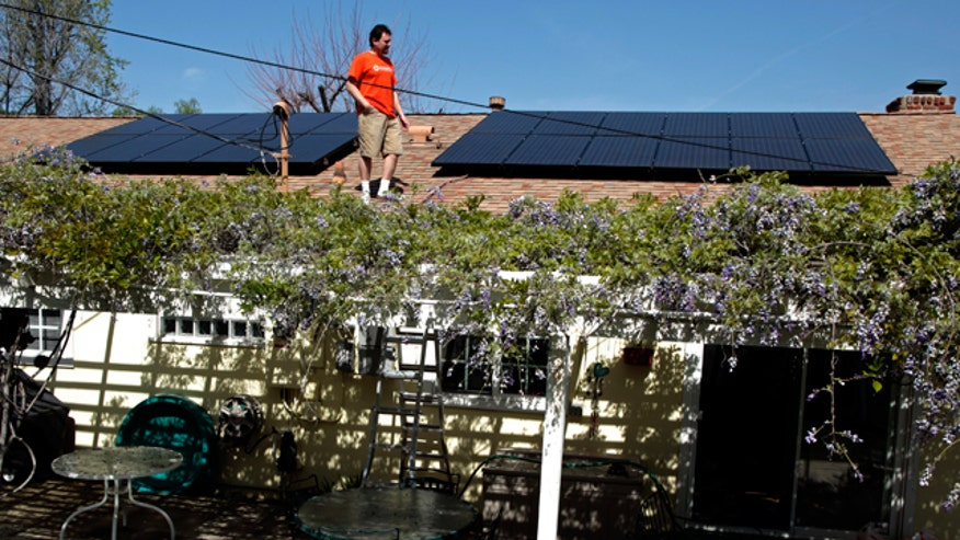 Solar Panel, House