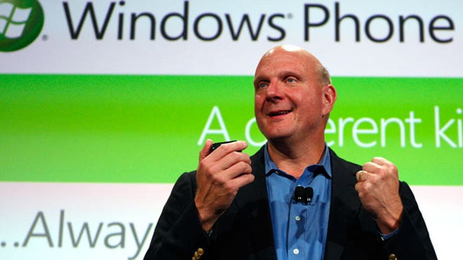 Microsoft CEO Steve Ballmer Speaks at Windows Phone 7 Launch