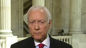Senator Orrin Hatch says he's not satisfied with acting IRS Commissioner Steven Miller's testimony on Capitol Hill today.