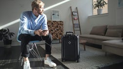 Bluesmart luggage is what happens when four travel nerds from Argentina get together to design the perfect high-tech suitcase.
