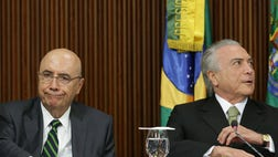 Brazil's acting president announced austerity measures Tuesday aimed at pulling Latin America's largest economy from its worst crisis in decades, warning that a failure to act will mean extraordinary hardship for future generations.