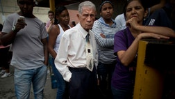 The International Monetary Fund forecasts for  a contraction in Latin America's average GDP of . percent, due mainly to economic problems in Argentina, Brazil and Venezuela, a senior IMF official said here Tuesday.