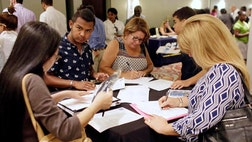 The unemployment rate jumped in September for Hispanic and Latino Americans, who lost work and missed out on broader national jobs gains.