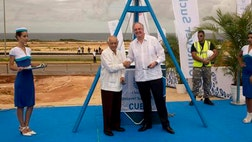 Dutch consumer product giant Unilever has become one of the largest foreign companies to move into a special economic development zone at the Cuban port of Mariel that is meant to jumpstart outside investment on the island.