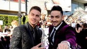 A glimpse at the red carpet, backstage, performances and speeches of the  Latin American Music Awards in Los Angeles.