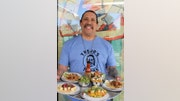 Actor Danny Trejo showcases his new taqueria Trejo's Tacos in Los Angeles. All photos by Mar Yvette.