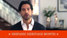 Adam Rodriguez is getting for his scantily-dressed role in Magic Mike XXL but for Hispanic Heritage Month, he hopes to motivate young Latinos to strive for high education.