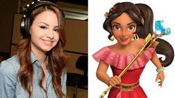 Behind the adventurous Elena is -year-old Aimee Carrero, who says that voicing the first Latina Disney princess is both a dream and an honor.