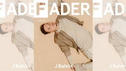 J Balvin appears on the cover of FADER magazine and for the first time in its history, the feature story appears in both English and Spanish.
