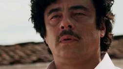 In Escobar: Paradise Lost, Benicio del Toro portrays Colombian drug lord Pablo Escobar's life as a family and community man in the late s and early s, at the height of his cold-blooded empire.