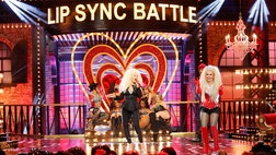 "Christina Aguilera went back to  for a quick revisit of her hit song, ""Lady Marmalade,"" to help Hayden Panettiere on ""Lip Sync Battle."""