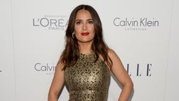The Mexican-born actress was rushed from the set of her current filmto the emergency room in upstate New York for a minor head injury, but it was her clothes that caused the biggest ouch of the day.