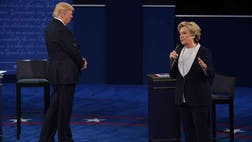 If you can't win against an opponent caught on tape within  hours of your debate bragging about getting away with grabbing women's p---y, you are not capable.