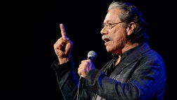 Mexican-American Edward James Olmos blasts the movie industry and the media for marginalizing the community.