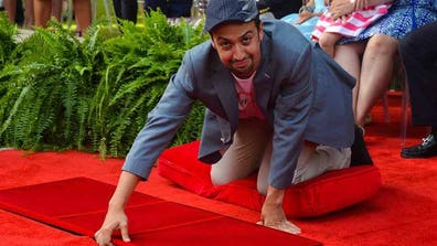 Award-winning American actor, composer and writer Lin-Manuel Miranda strongly advocated arts education in Puerto Rico after his star was unveiled on the U.S. commonwealth's Walk of Fame in San Juan.