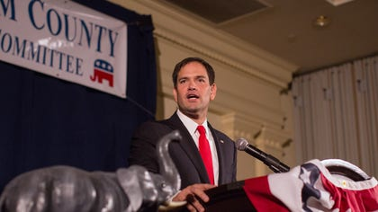 Sen. Marco Rubio warned President Barack Obama that his threats to take executive action on immigration reform would close the door on any chance of making progress on the issue in the foreseeable future.
