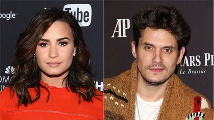 The -year-old singer has only been single for a couple of months, but it looks like a romance might be blooming with John Mayer.