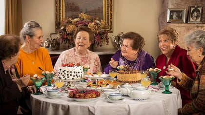 """The documentary """"Tea Time (La Once),"""" set to premiere on PBS's Point of View series on July , shows the lives of a group of women in Chile who have been friends for more than  years."""
