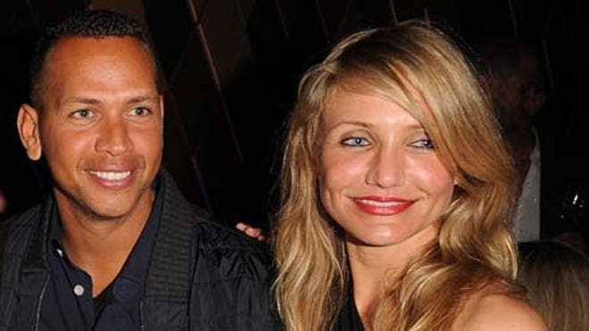 ARod and Cameron Diaz.JPG