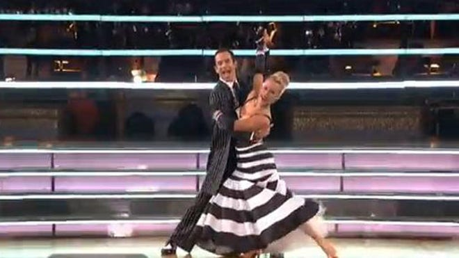 DANCING WITH THE STARS HELIO QUICKSTEP.JPG