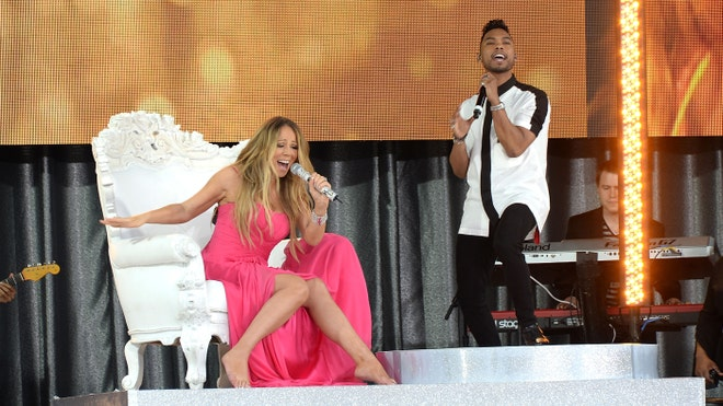 Mariah Carey and Miguel.jpg