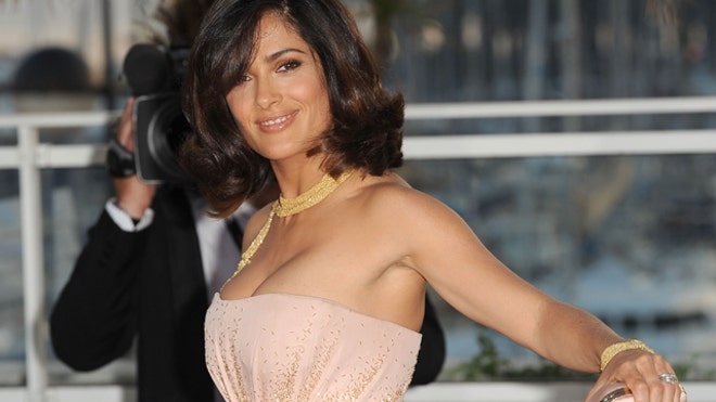 Salma Hayek's breasts are in ...