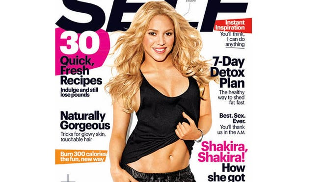 shakira self magazine cover.jpg