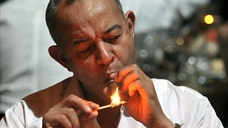 Some  percent of people over  years old are habitual smokers in Cuba and half the population is exposed to tobacco smoke at home, at work or in public places, official Cuban media reported.