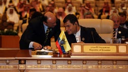 While Venezuela sinks, Ecuador is quietly rising to lead the charge against U.S. interests in Latin America.