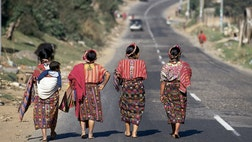 """The most diminutive women in the world live in Guatemala – standing at just '"""". The nickname for a woman from that Central American nation is Chapina, just one letter removed from chapita, or shorty."""