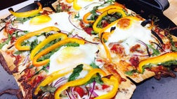 If you look at the ingredients in pizza, you can tweak it in a few places to make it nutritious and flavorful.