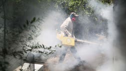 A National Institutes of Health official said Sunday that the Zika virus could hang around the United States for a year or two.