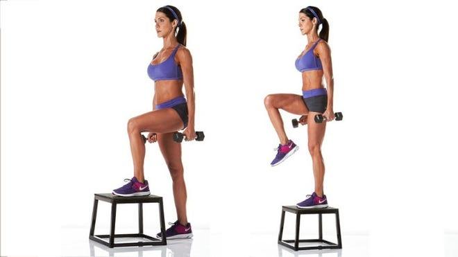 fitness step oefeningen