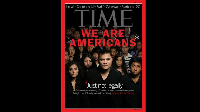 """undocumented latinos There's a reason so many latino immigrants are """"illegal"""" and european  immigrants aren't (the reason is racism)."""