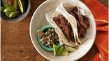 FNL grill skirt steak fajitas